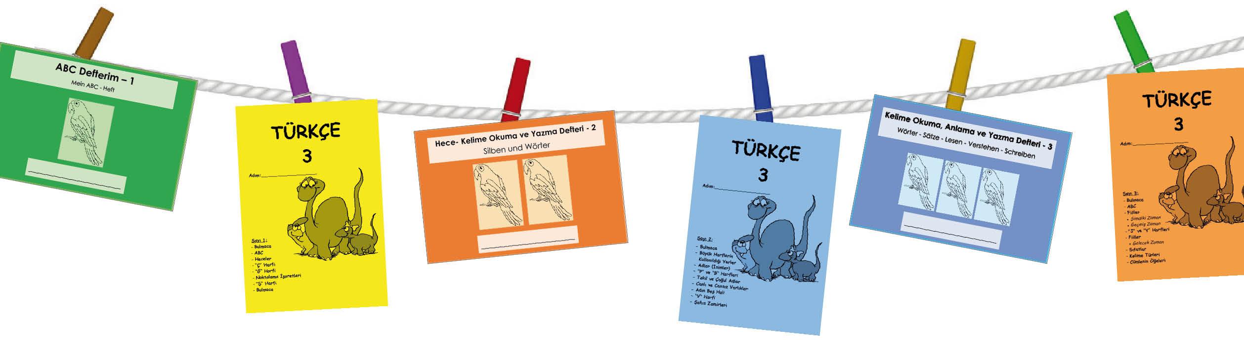 Türkisch Übungshefte für die Grundschule