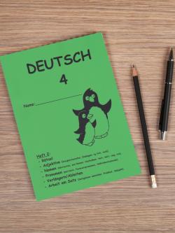 Deutschhefte 4. Schuljahr
