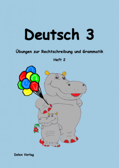 Deutsch Übungsheft für das 3 Schuljahr Heft 2